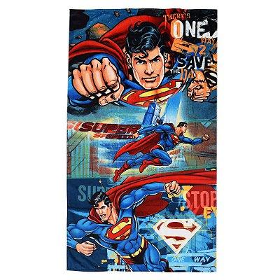 Toalha de Banho Velour - Super Homem - Döhler