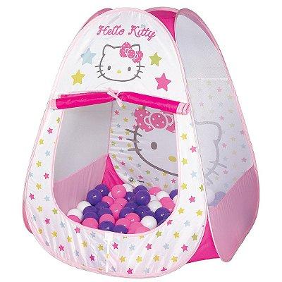 Toca Hello Kitty com Bolinhas - Braskit