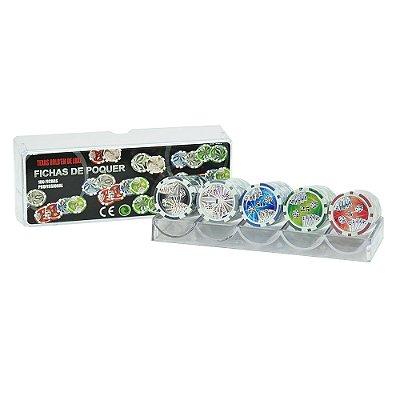Fichas de Pôquer - 100 peças