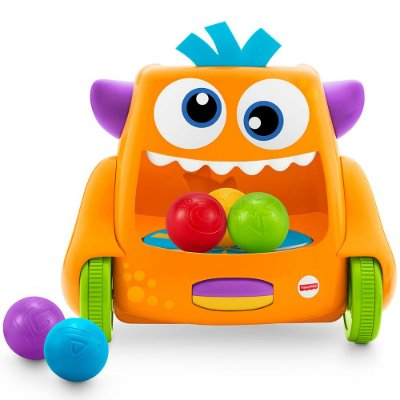 Monstro Movimento e Bolinhas Divertidas - Fisher Price