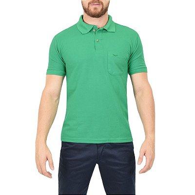 Camisa Polo Masculina Verde - Wayna
