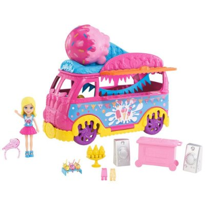 Polly Pocket - Carnaval de Sorvetes - Mattel
