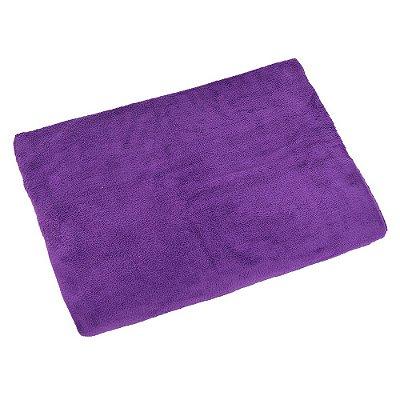 Manta Microfibra Solteiro Violeta - Jolitex