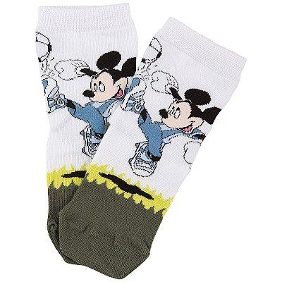 Meia Infantil Mickey Futebol - Lupo