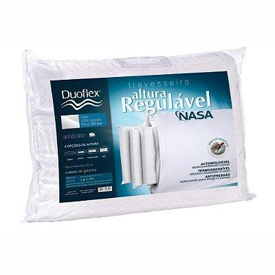 Travesseiro Altura Regulável Nasa - Duoflex