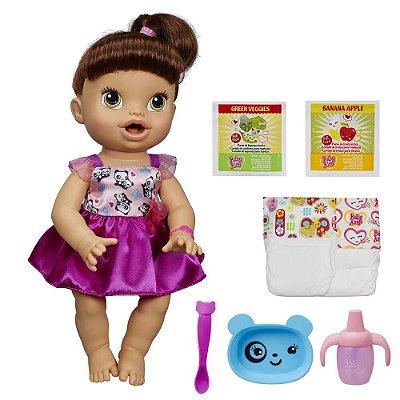 Baby Alive Morena - Hora de Comer - Hasbro