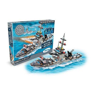 Blocos de Encaixe Defensor Dos Mares - 388 Peças