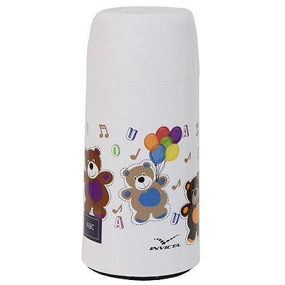 Mini Garrafa Térmica Infantil Ursos - 250ml - Invicta