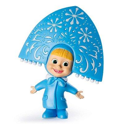 Mini Figura Básica - Masha e o Urso - Masha Donzela das Neves - Sunny