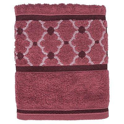 Toalha de Rosto Versati Lavine - Rosa Escuro - Karsten