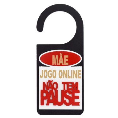 Aviso de Porta - Jogo Online - Zona Criativa