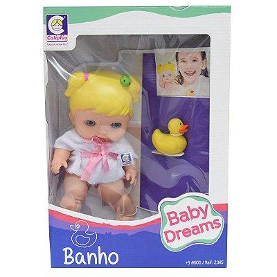 Boneca Baby Dreams Banho - Cotiplás