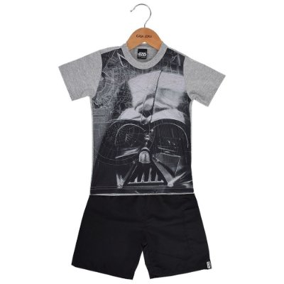 Conjunto Infantil Darth Vader - Star Wars - Malwee