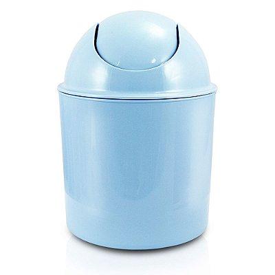 Lixeira Tampa Basculante 1,5L - Azul - Jacki Design