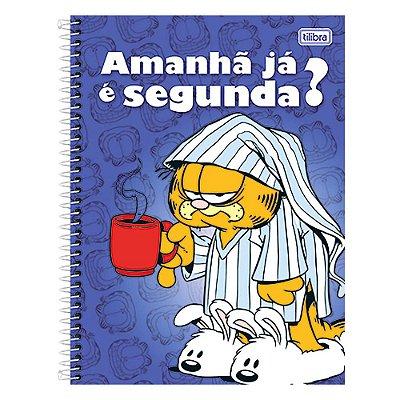 Caderno Universitário Garfield - Amanhã já é segunda? - 10 matérias