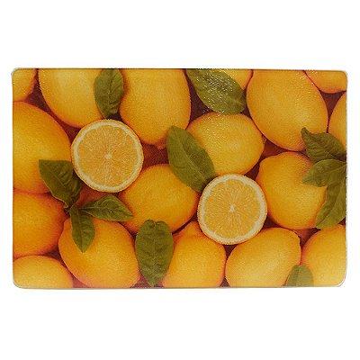 Tábua de Vidro Limão Siciliano - 20 x 30 cm - Dynasty