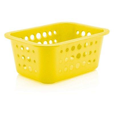 Caixa Organizadora Pequena - Amarela - Ou