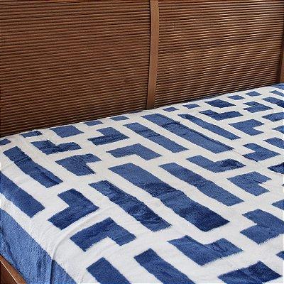 Cobertor Raschel Casal Home Design Davis - Corttex