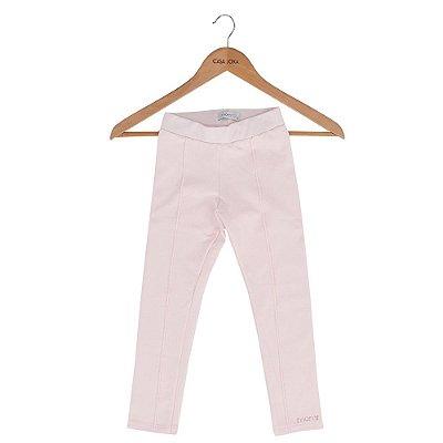 Calça Legging Infantil Rosa - Momi