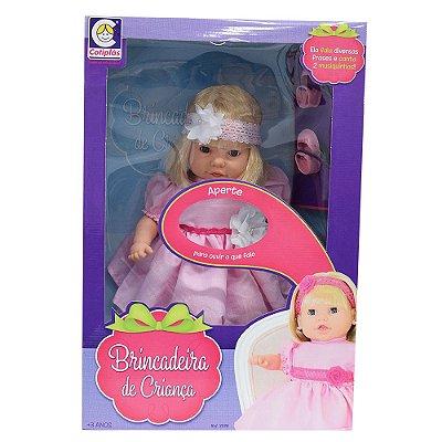 Boneca Brincadeira de Criança - Cotiplás