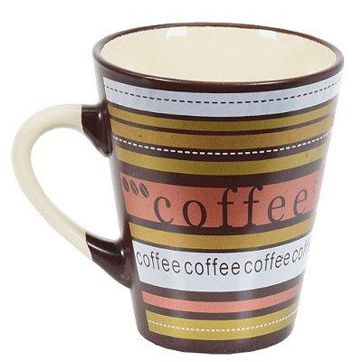 Caneca De Cerâmica Caboclo 300ml - Coffee Marrom