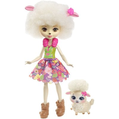 Enchantimals - Lorna Lamb e Flag - Mattel