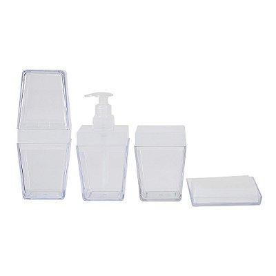 Conjunto Banheiro Kéo - 4 Peças - Ou