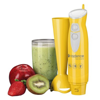 Mixer de Alimentos Fast Blend Colors - Amarelo - Cadence