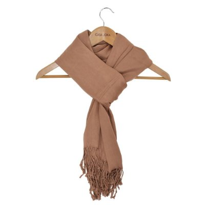 Pashmina Lisa Chocolate Claro