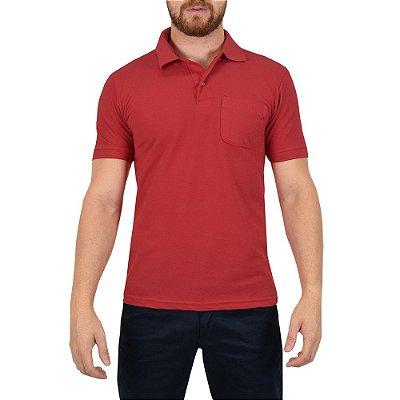 Camisa Polo Masculina Vermelha - Wayna