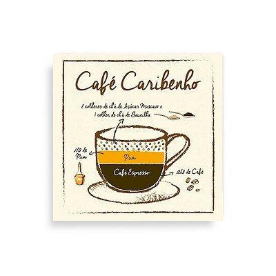 Quadro Decorativo Café Caribenho - Geguton