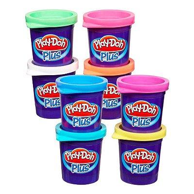Conjunto Play-Doh 8 Potes de Massinha - Hasbro