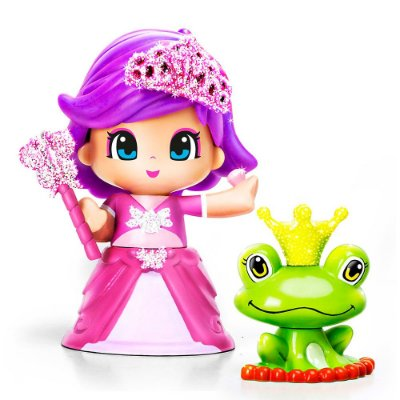 Boneca Pinypon Princesas - Vestido Rosa - Multikids