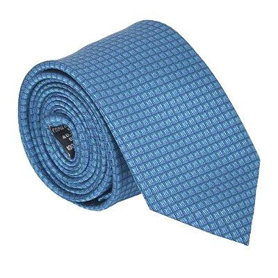 Gravata Tradicional Azul - Pierre Cardin