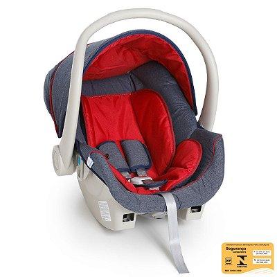 Bebê Conforto Cocoon Jeans Vermelho - Galzerano