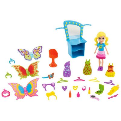Polly Pocket - Fantasias de Borboleta - Mattel