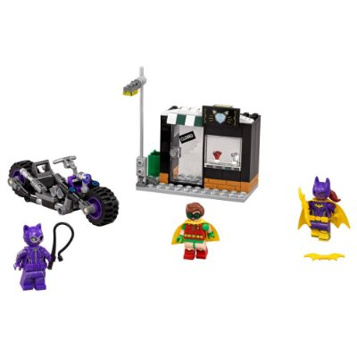 Lego Batman Movie - A Perseguição de Moto da Mulher Gato