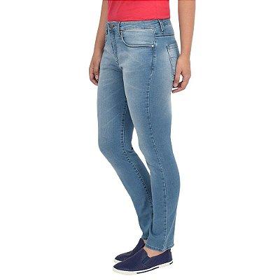 Calça Jeans Skinny Cintura Alta - Calvin Klein