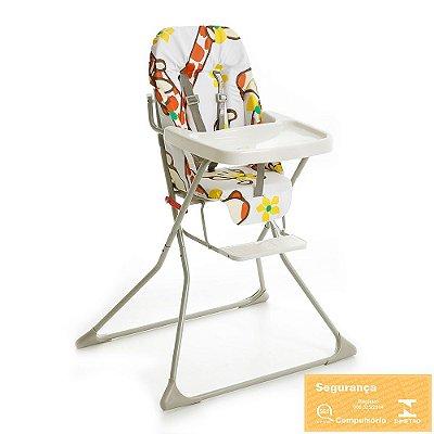 Cadeira para Refeição Alta Standard - Girafinha - Galzerano