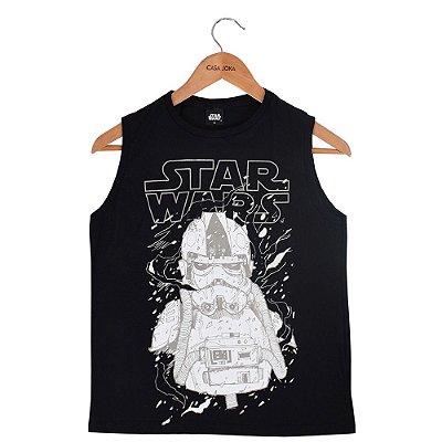 Regata Infantil Masculina Stormtrooper - Star Wars - Fakini