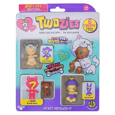 Twozies Blister Kit com 6 Personagens - Lance - Série 2 - DTC