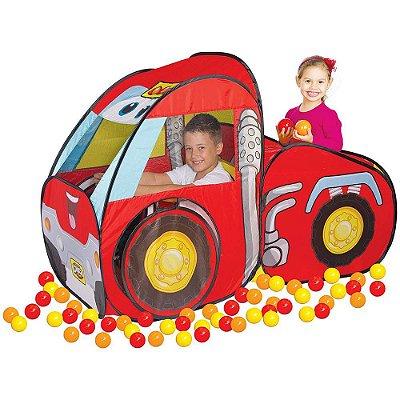 Toca Car Com Bolinhas - Chuck & Friends - Braskit