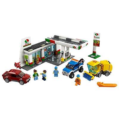 Lego City 2 em 1 - Posto de Gasolina e Lava Jato - Lego
