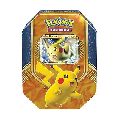 Baralho na Lata Pokémon Pikachu - Copag