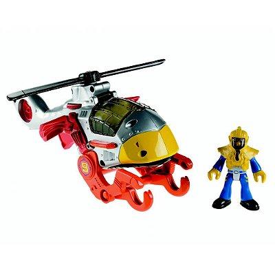 Imaginext Sky Racer - Helicóptero Falcão - Fisher-Price