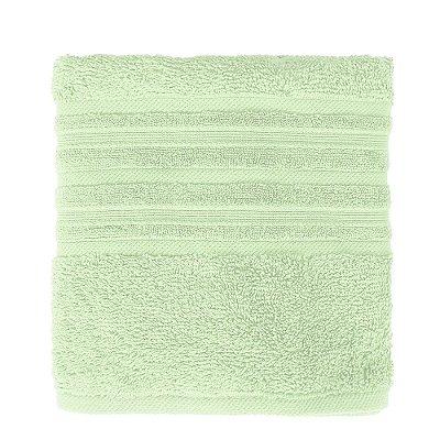 Toalha de Rosto Maxy Fio Penteado - Verde Claro - Karsten