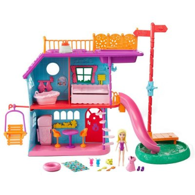 Polly Pocket - Casa de Férias da Polly - Mattel