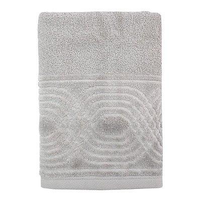 Toalha de Rosto Unique Wave - Cinza - Santista