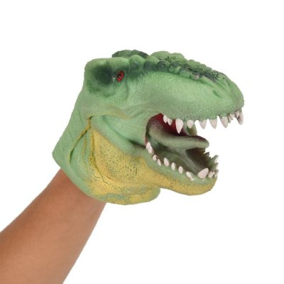 Dino Fantoche Verde - DTC