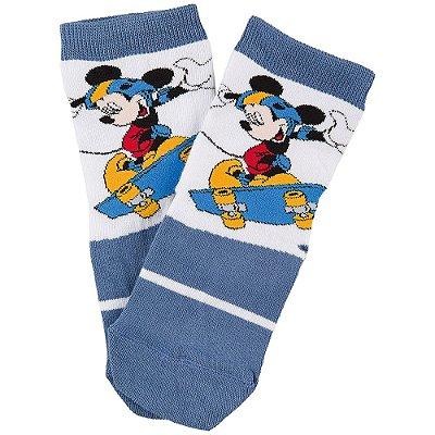 Meia Infantil Mickey Skate - Lupo